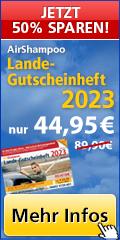 AirShampoo Lande-Gutscheinheft 2017 – Jetzt erhältlich zum Sparpreis