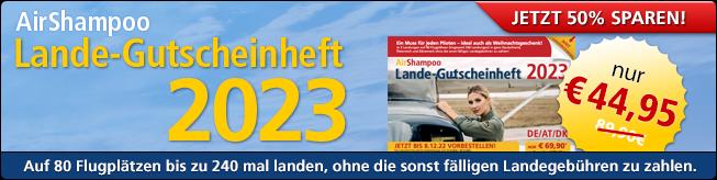 AirShampoo Lande-Gutscheinheft 2017 – Jetzt mit 50% Rabatt