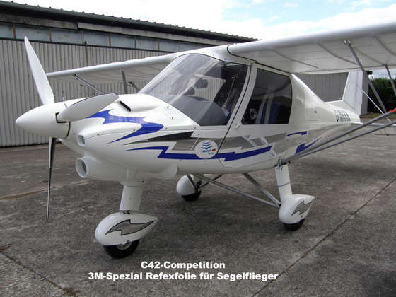 Airshampoode Comco Ikarus C42 B Competition